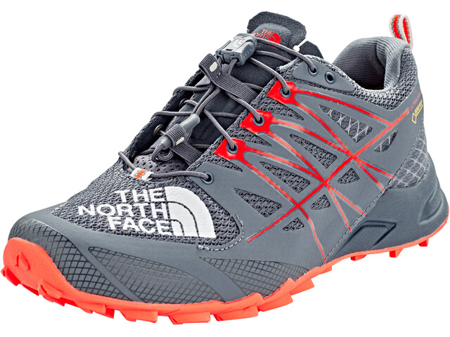 The North Face Ultra MT II GTX Løbesko Damer grå/rød (2019) | Running shoes